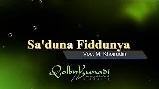 Sa duna Fiddunya Voc M Khoirudin Qolby Yunadi Group Kedungpeluk Candi Sidoarjo