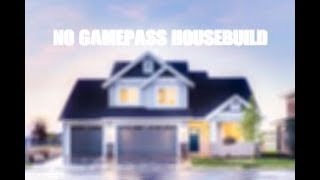 NO GAMEPASS HOUSE!! 89K (with car) - Roblox Bloxburg