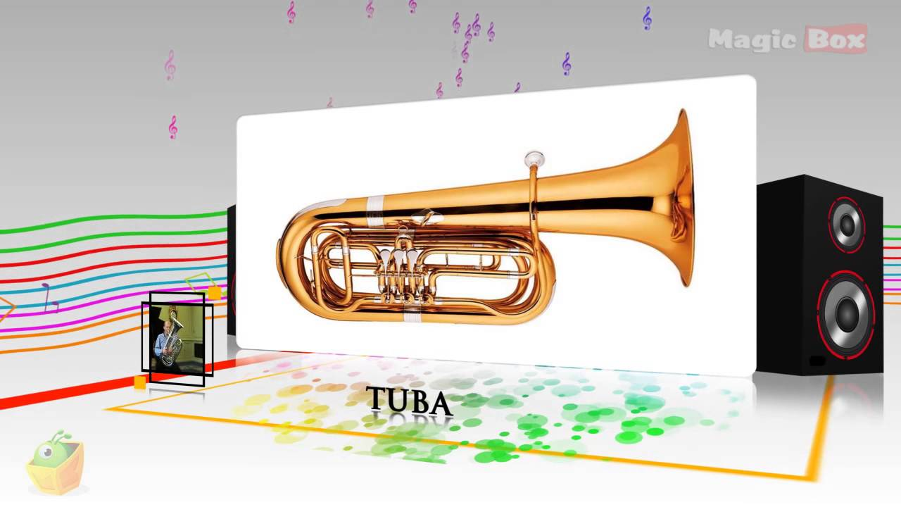 Tuba - Musical Instruments - Pre School - Animated  Educational Videos For Kids