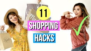 11 Shopping Hacks Every Girl Must Know with Miss Louie!