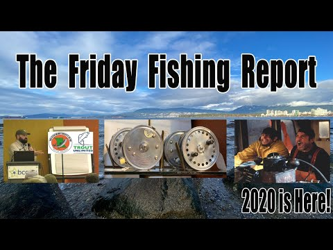 Pacific Angler's Vancouver Fishing Report Jan 3, 2020 Happy New Year!