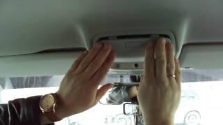 Снятие и установка очечника на VW Tiguan