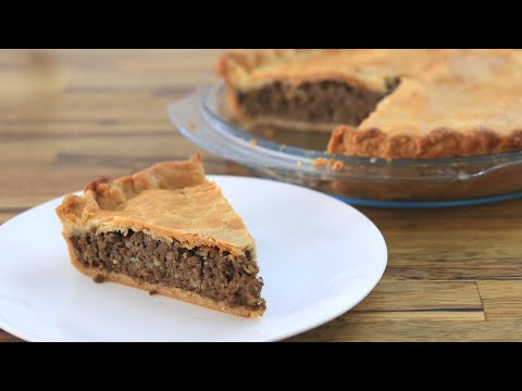 How to Make Meat Pie | Tourtière Recipe Lunch Videos