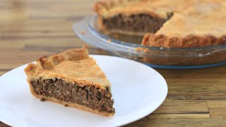 How to Make Meat Pie | Tourtière Recipe