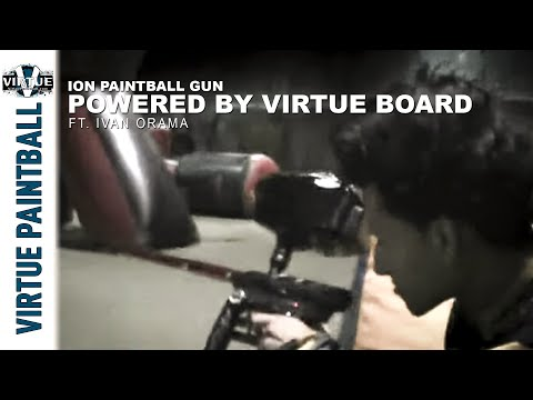 Ion Paintball Gun Powered By Virtue Board