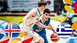Iceland v Greece - Full Game - Class. 13-16 - FIBA U20 European Championship 2018 thumbnail