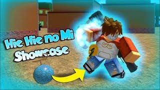 HIE HIE NO MI/ ICE ICE FRUIT SHOWCASE!! | One Piece Millennium - France Roblox