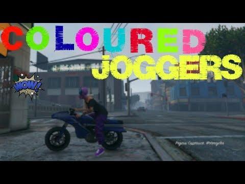 Gta 5 Coloured Joggers ** Clothing Glitch**