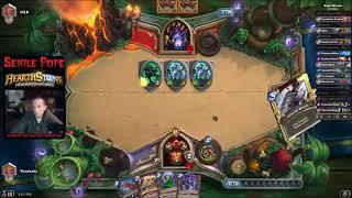 Hearthstone BDP: Quest Warrior vs Zoolock (Season 50 Day 22)