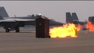 2012 Great New England Airshow - Jet Powered Outhouse