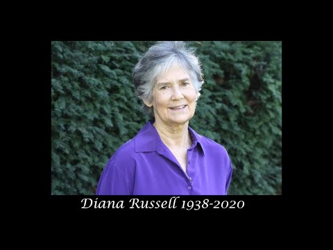 Memorial for Diana E. H. Russell, Ph.D., with Gloria Steinem, Diana's sister Jill Hall and 5 others