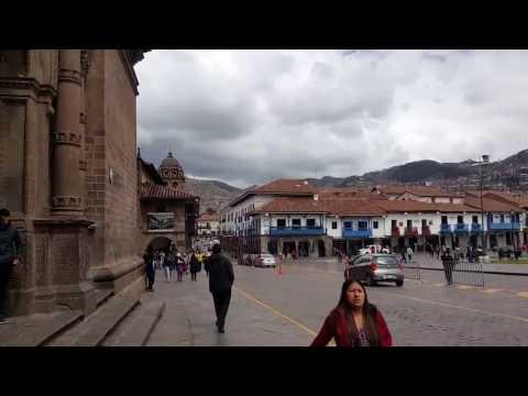 Plaza and City View Cusco Peru