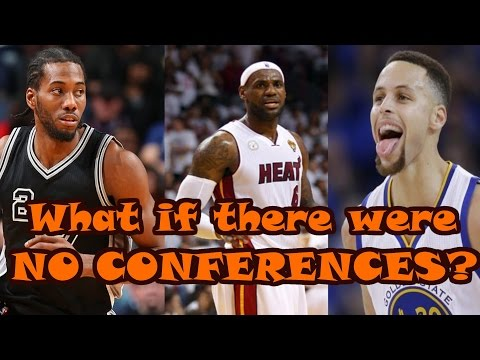 What if the NBA Playoffs Had NO CONFERENCES?
