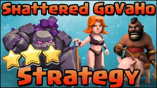 How to Shattered GoVaHo 3 Star War Attack Strategy for TH9 | Clash of Clans - With the New Valkyries