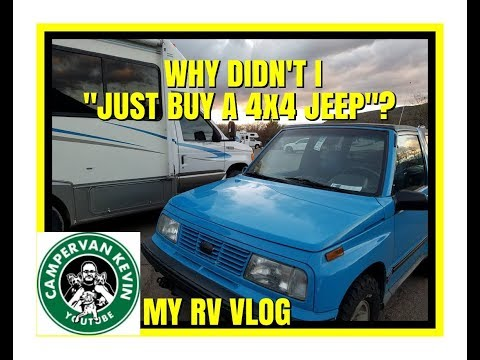 """WHY DIDN'T I """"JUST BUY A 4x4 JEEP"""" TO TOW WITH RV?"""