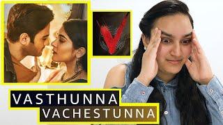 Vasthunna Vachestunna Song {REACTION} | #V 🥰 #Nani 🥰 #SudheerBabu 🥰 | The Adaptor Reactions!