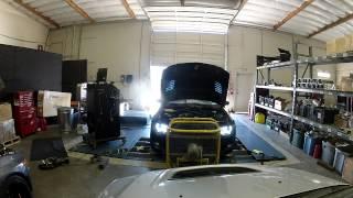 fbis vff700 single turbo 335i on the dyno