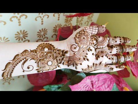 Diwali Special Mehndi Design For Hands 2 By Heena Vahid
