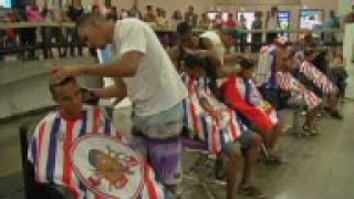 Brazil: Barbers Compete For Best Haircut Title