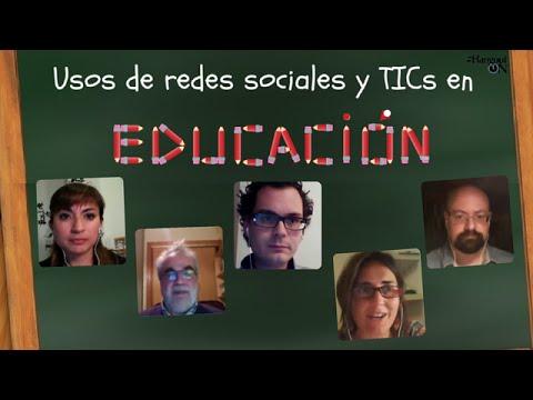Usos de redes sociales y TICs en educación