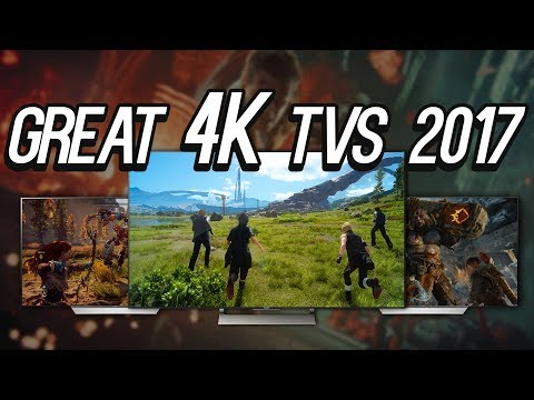 5 Great 4K HDR TVs for the PS4 Pro and Xbox One X in 2017