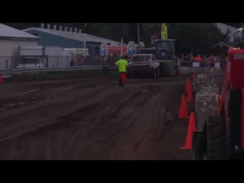 Saratoga county fair 2016 truck pull first place