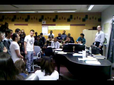 Afula Israel Youth Orchestra Choir at Sci-Tech, VID 20110412 090727
