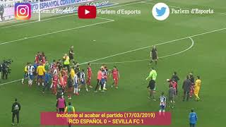 RCD Español 0 - Sevilla FC 1 (17/03/2019)
