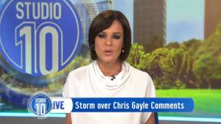 Chris Gayle Comments On Air Cause Social Media Storm