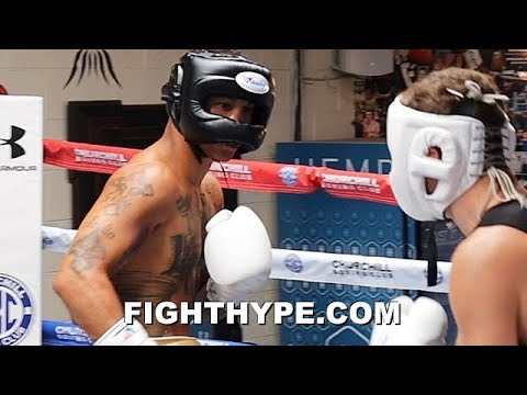 REGIS PROGRAIS ROAD TO LONDON - ALL ACCESS LOOK INTO TRAINING CAMP FOR JOSH TAYLOR CLASH (PART 1)