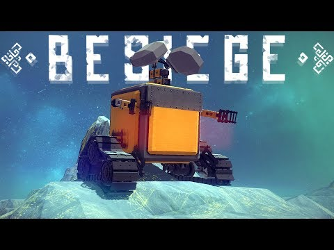 Besiege Gameplay - Draegast's Car, Wall-E Tank, Amazing Aircraft Carrier - Best Besiege Creations