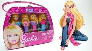 Barbie PEZ set of 4 Gift PEZ with Candy