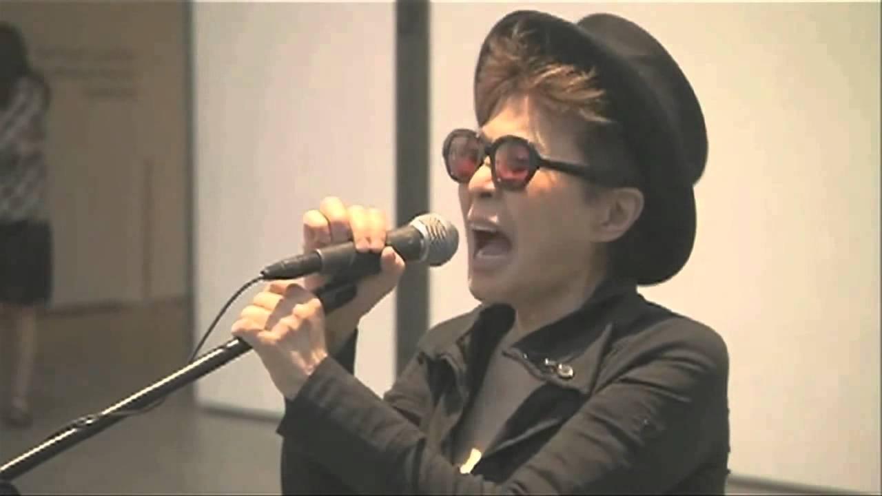 Yoko Ono Screaming Goat Edition Youtube