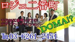 【ロジェ二番町】内見動画 1K+DOMA 53.28㎡