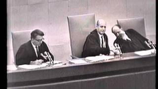 Eichmann trial - Session No. 55 , 56