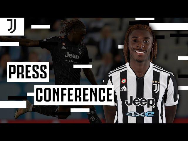 🔴 LIVE MOISE KEAN PRESS CONFERENCE | Juventus