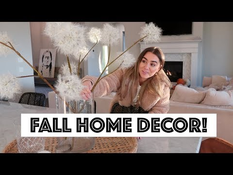 BOHEMIAN MODERN FARMHOUSE TOUR | FALL HOME DECOR updates! Julia Havens