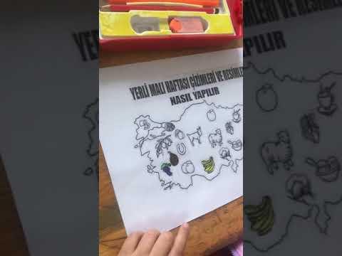 Funda Meriçten Yerli Mali Boyama Youtube