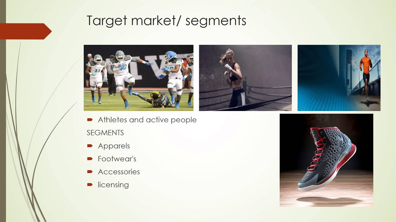 "underarmour analysis Case study 2, under armour's strategy under armour is an emerging company in the sports apparel industry whose mission is to ""make all athletes better through passion, science and the relentless pursuit of innovation"" under armour was a disruptive innovator in the sports apparel industry by."