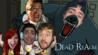 MORRENDO DE SUSTO! - Dead Realm ft. Leon, Cellbit, Satty, Alan e Damiani