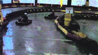 Girl Friday tries Go Karting with Eddie Irvine Sports