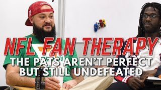 NFL FAN THERAPY: The Pats Aren't Perfect But Still Undefeated Video