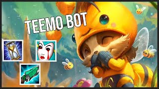 Teemo Bot Lane ADC Gameplay - Patch 9.19 (League of Legends Gameplay)