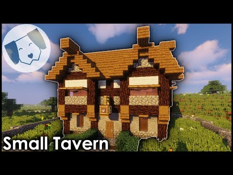 Minecraft: Small Medieval Tavern/Inn Tutorial!