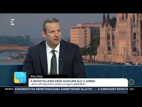 A Jobbik a nemzetellenes erők oldalára állt - Toroczkai László - ECHO TV