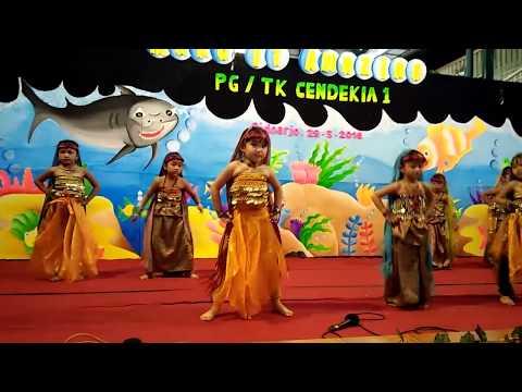 tari india anak anak TK cendekia