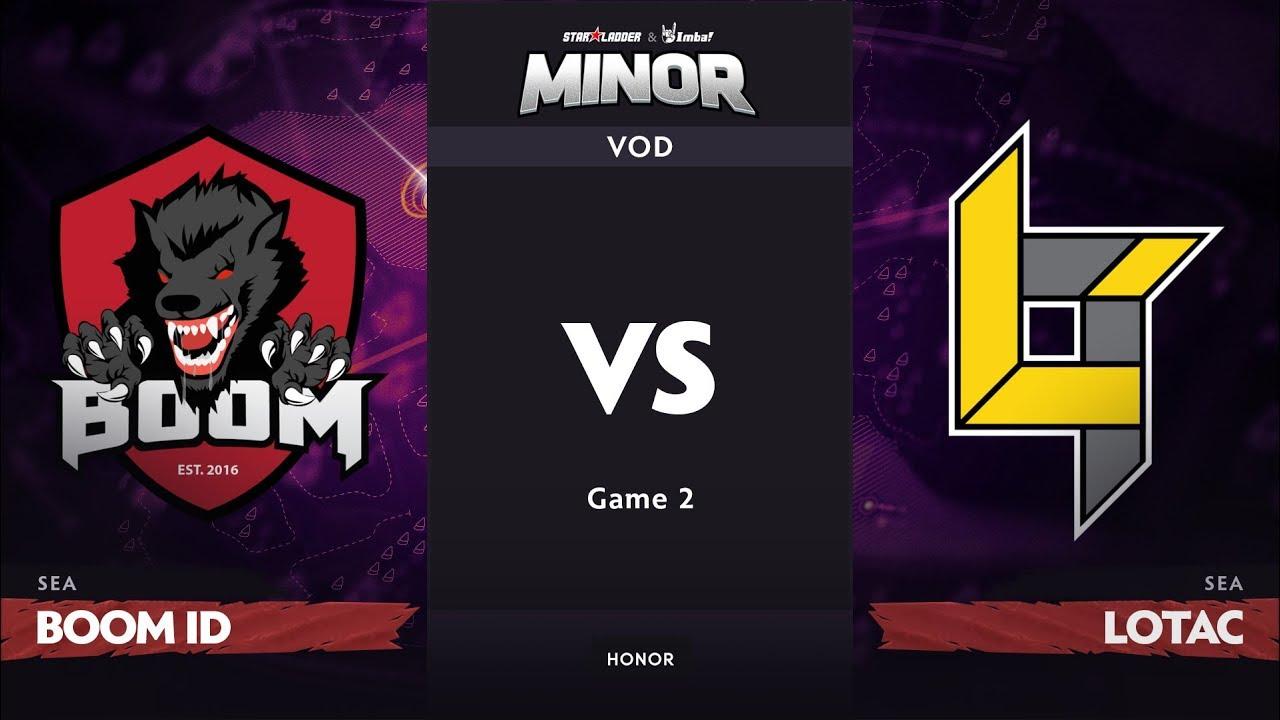 [RU] BOOM ID vs Lotac, Game 2, SEA Qualifier, StarLadder ImbaTV Dota 2 Minor