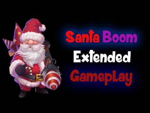 Castle Clash Santa Boom Extended Gameplay