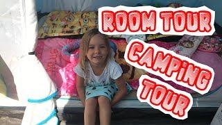 [ROOM TOUR] et CAMPING TOUR ⛺️ en Espagne !!! - KID STUDIO TEST