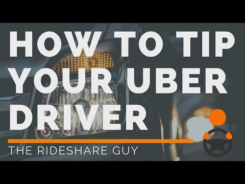 How To Tip Your Uber Driver